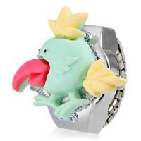 Cute Bird Обложка Сплав серебра Кварц кольцо смотреть девушки (разных цветов)