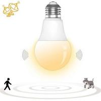 1 шт. E27 светодиодный микроволновой радар движения датчик окружающей среды свет лампы умные лампочки для коридора гаража ac180-240v